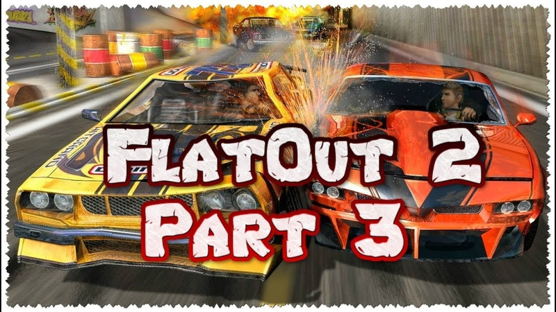 FlatOut 2 (PC) Walkthrough Part 3 Canals Special Derby Cup [No Commentary] (720 HD)
