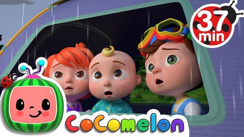Rain Rain Go Away | More Nursery Rhymes Kids Songs - Cocomelon (ABCkidTV)