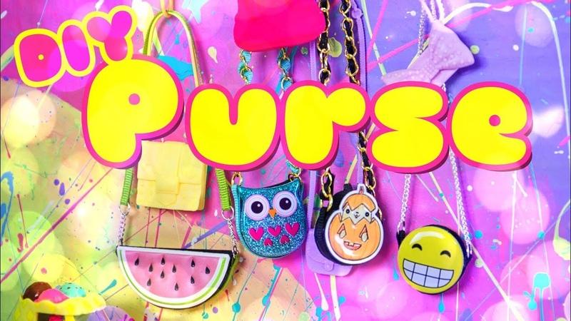 DIY - How to Make Doll Purse | Cartoon Bag | Cross Body Bag | Emoji Bag