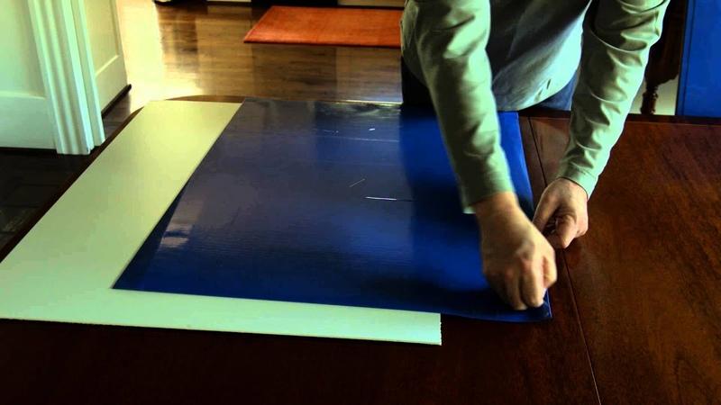 Применение липких ковриков