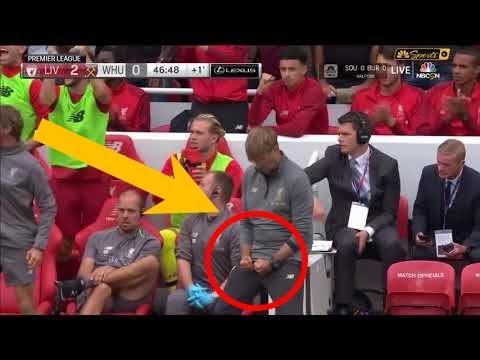 Jurgen Klopp Fapping Celebration vs West Ham