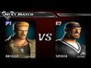 Def Jam Vendetta 3 Briggs vs Spider Novice League