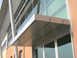 aluminum facade project