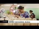 Матрешки в стиле ЧМ по футболу Как делают традиционный русский сувенир