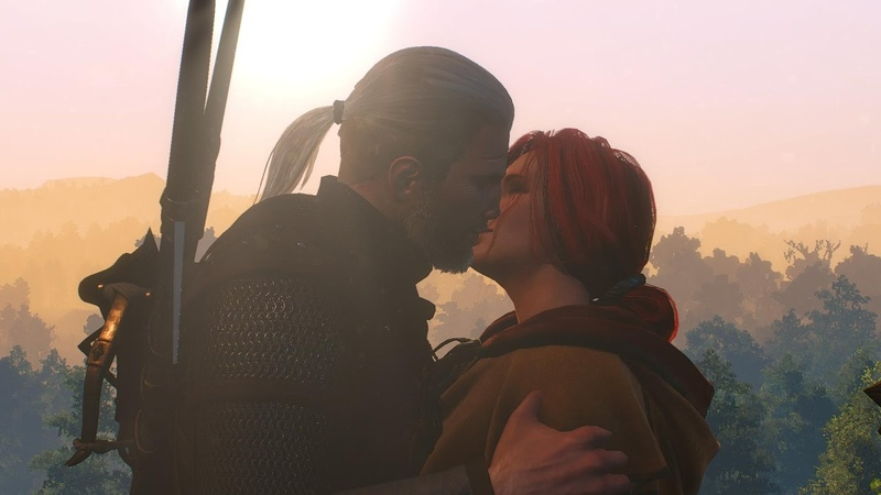 The Witcher 3 Triss Romance Full Story Complete Historia Completa HD Español