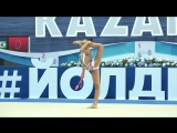 Лала Крамаренко - Булавы 18.600 Yoldiz Cup 2018 Kazan