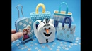 5 DIY Miniatures Frozen Theme Mini Bags - Trolley bag, Backpack, Tote, etc