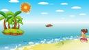 Детская песня - Я рисую море, голубые дали - YouTube