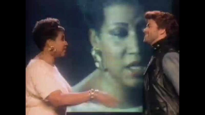 George Michael Aretha Franklin - I Knew You Were Waiting (For Me) (Official Video)