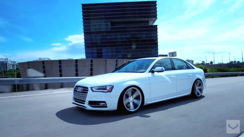 Audi S4 on 20 Vossen CV3 Concave Wheels Rims