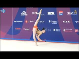 Лала Крамаренко - булавы (командное многоборье) // Sofia Cup 2019