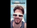 @AdamLambert with friends at Catalina Island. Boat trip 09082018