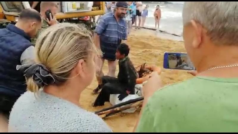 2018.08.30 - в Ливадии в разбитой шхуне нашли северокорейского рыбака