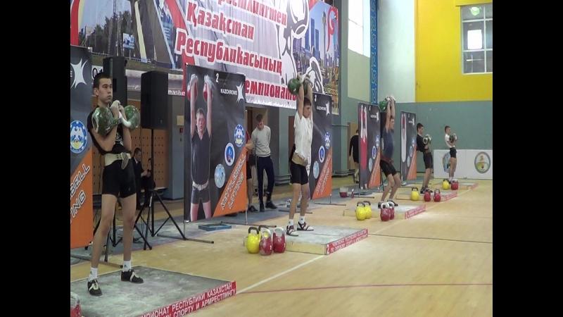 Чемпионат РК (февраль 2018) - вк 63 кг- 2 место Скутин Алексей