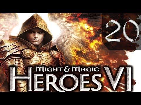 Герои 6 Might Magic Heroes VI Сложно Прохождение 20 Непокорные Племена 4