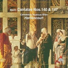 Nikolaus Harnoncourt альбом Bach, JS : Sacred Cantatas BWV Nos 140 & 147