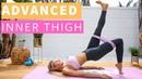 Rebecca Louise Thigh Workout Resistance Bands Тренировка для ног и внутренней поверхности бедра с фитнес резинкой