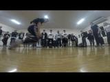 BEGINNERS 1x1 Bboy Voron(win) &amp Bgirl Косичка