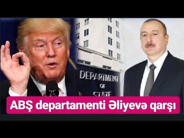 Əliyev rejiminə qarşı ABŞ-dan sərt hesabat gəldi - SON DƏQİQƏ