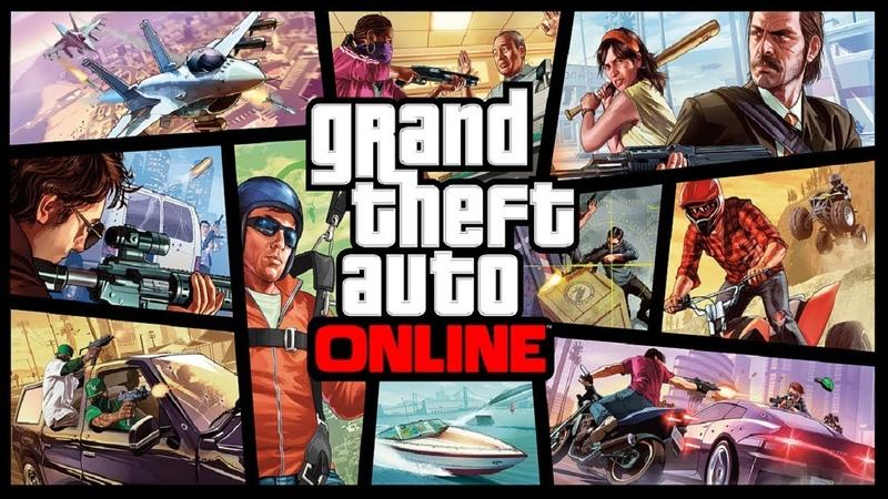 🔴 СТРИМ - ОГРАБЛЕНИЯ И ДЕЛА! - Grand Theft Auto Online
