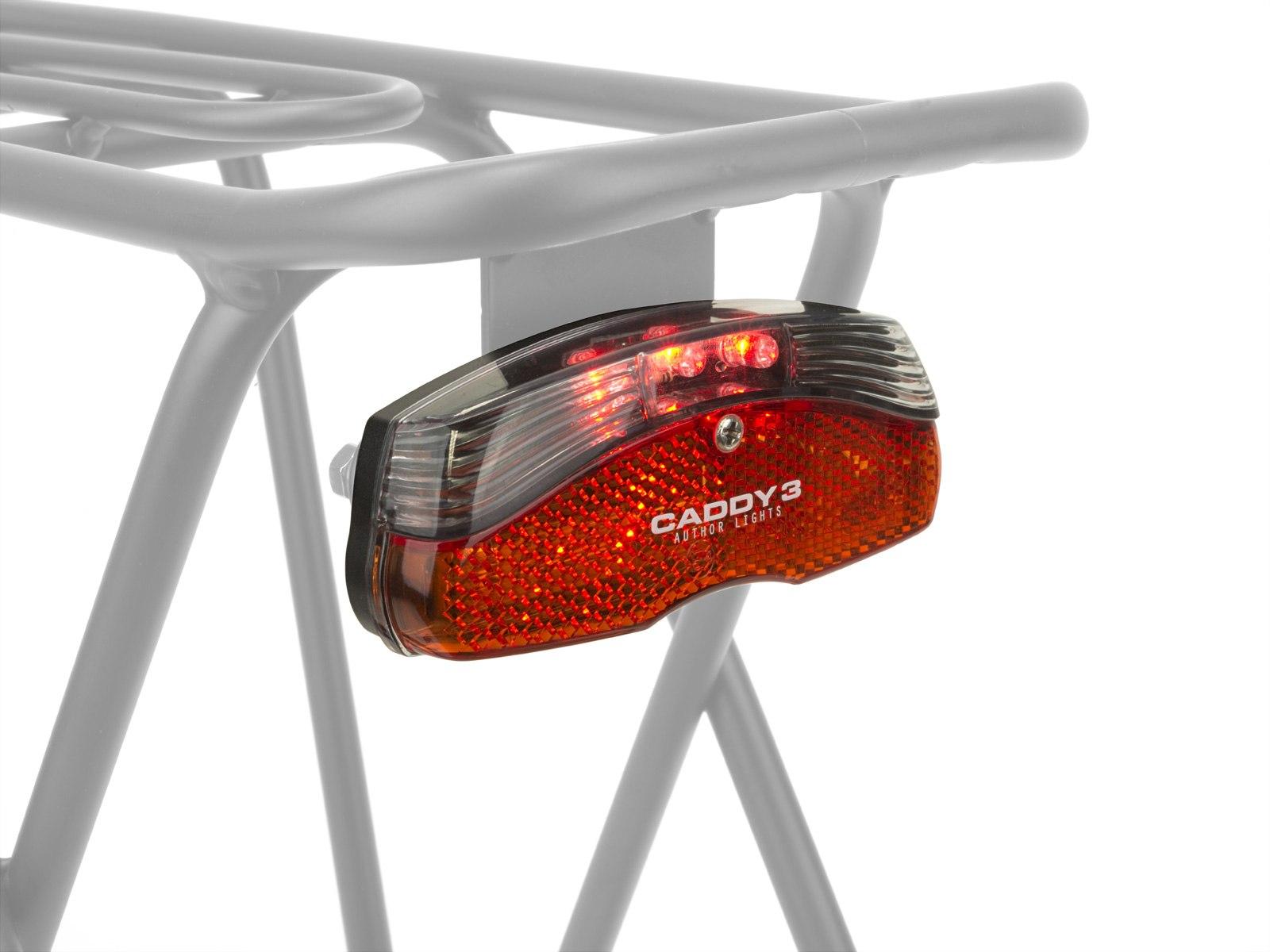 Задний велосипедный фонарь на багажник