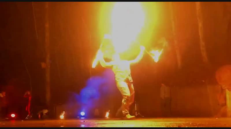 Фаер шоу в Сочи/ Театр Огня и Света ALTER