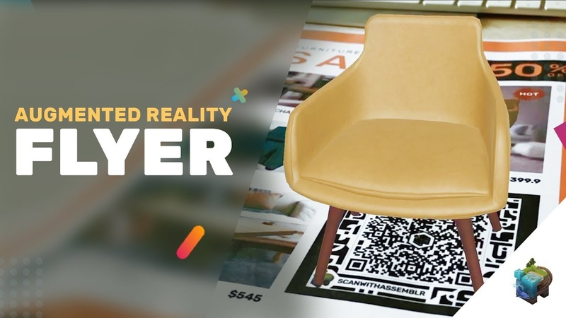 AUGMENTED REALITY FLYER : Assemblr