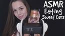 ASMR Eating Sweet Ears 🍫 АСМР Поедание ушек 🍯 ASMR Honey Girl