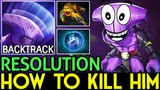 Resolution Dota 2 [Faceless Void] How to Kill Him? immortal build..