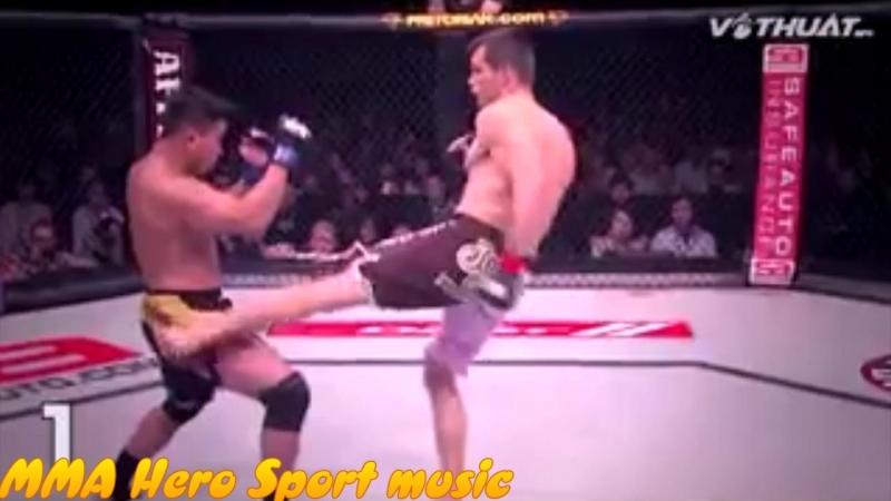 --Кунг Ли--Лучшее от MMA HERO.