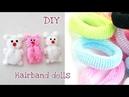 DIY hairband dolls tutorial/DIY handmade doll/How to make dolls