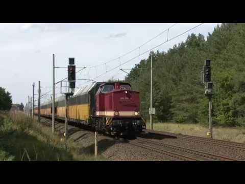 MEG 804 und 301 - Überführung von 14 Schrottloks der Baureihe 151 von Hamm nach Mukran