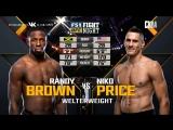 UFC FN 133 Randy Brown VS Niko Price