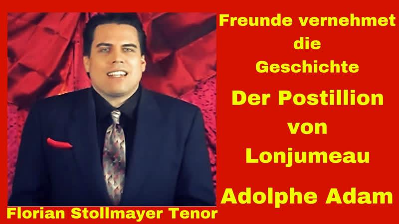 Freunde vernehmet die Geschichte HOHES D und C (Florian Stollmayer lyrischer Tenor)