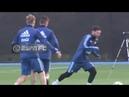 El entrenamiento de la selección argentina con Messi y Dybala juntos
