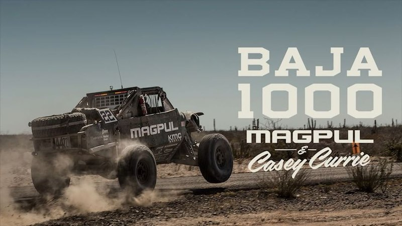 """Magpul on Instagram: """"Good luck 🍀 to @caseycurrie as he takes on the SCORE Baja 500 this weekend. Here is a peek from our 2017 50th SCORE Baja 1000..."""