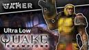 Quake Champions vs its Minimum Requirements vs Super Low resolution