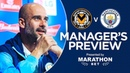 Pep Guardiola previews Newport v Man City | PRESS CONFERENCE