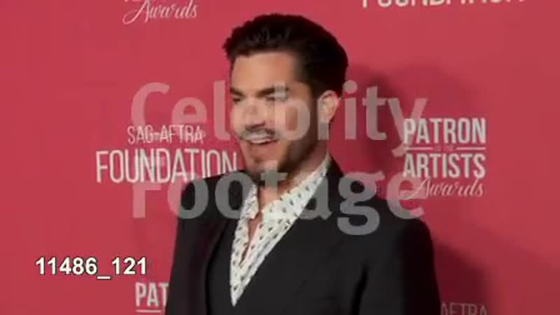 Adam Lambert at SAG-AFTRA- red carpetF, November 8, 2018