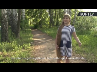 170708131 A 12 Year Old Is Called Rapunzel For Her Long Hair. Нина Бычкова. 8.07.2017.