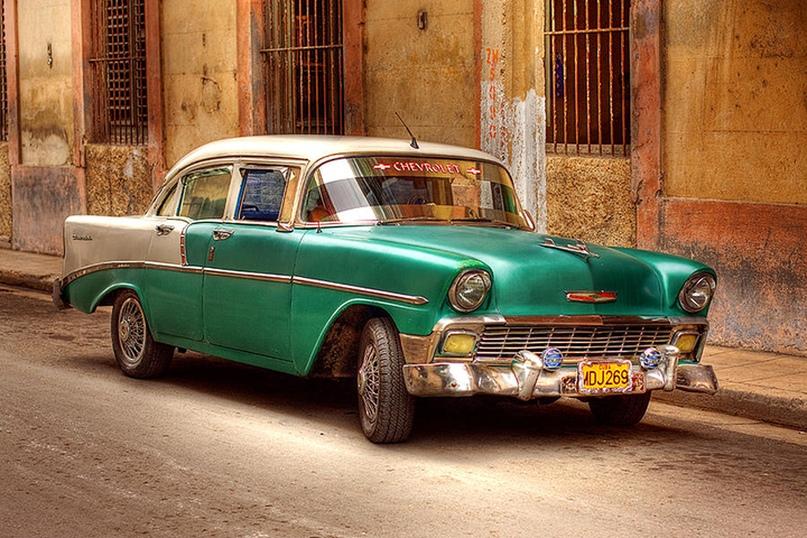 кубинские автомобили фото этом