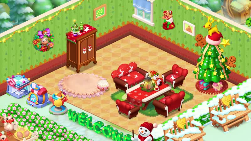 [Семейная Ферма] Укрась свой дом к праздникам!