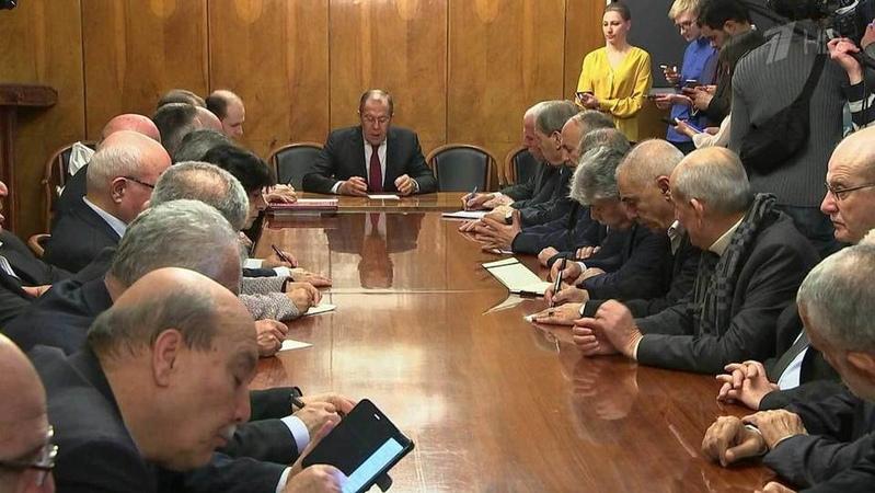 ВМоскве состоялась встреча представителей палестинских движений. Новости. Первый канал
