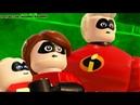 Суперсемейка 2 ЛЕГО игровой мультик LEGO THE INCREDIBLES мультфильм для детей Мульт про супергероев