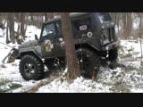 Land Rover Defender 110 опоздал но ПЕРЕВЕРНУЛСЯ первым МЕГА-УАЗ устоял off road 4