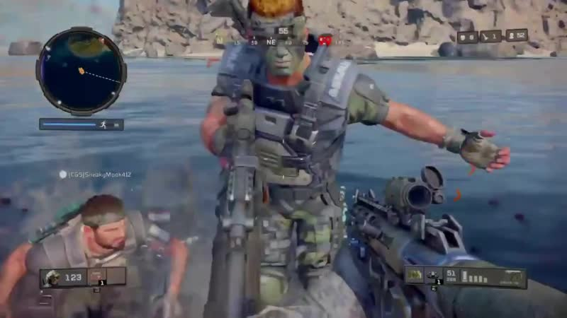 """Enemy's POV of my """"Maybe my greatest blackout out clip and squad wipe of all time"""" that I posted yesterday. Black Ops 4"""