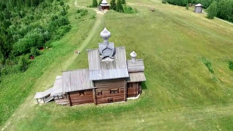 Хохловка (Пермский край). Музей деревянного зодчества.