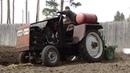Крякнул двигатель на самодельном тракторе