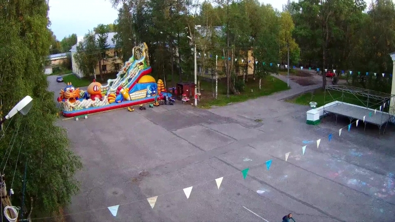 Сосногорск. Аэровидеосъемка. 3 сентября 2018 года. Видео © Иван Огурцов