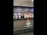Пресс-конференция Массимо Карреры после матча с Локомотивом